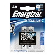2 Piles AA L91 Ultimate Lithium ENERGIZER