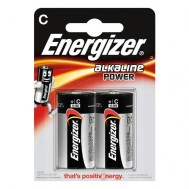 2 Piles C LR14 Alkaline Power ENERGIZER