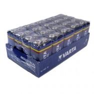 20 Piles 9V 4022 VARTA Industrial