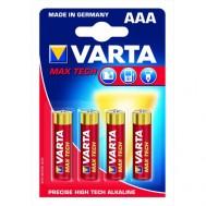 4 Piles AAA 4703 VARTA Max power