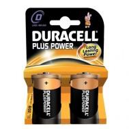 2 Piles 1,5V MN1300 D DURACELL Plus Power