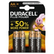 4 Piles AA MN1500 DURACELL Plus Power
