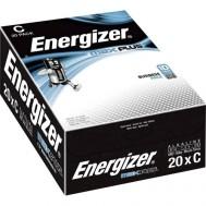 20 Piles LR14 C Max Plus ENERGIZER