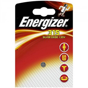 1 Pile 315 Silver ENERGIZER