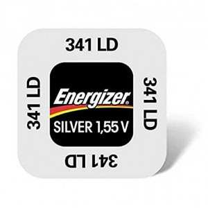 1 Pile 341 Silver ENERGIZER