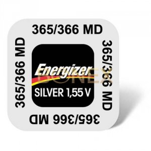 1 Pile 365/366 Silver ENERGIZER