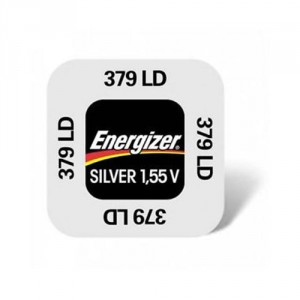 1 Pile 379 Silver ENERGIZER