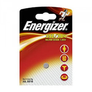 1 Pile 392/384 Silver ENERGIZER