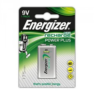 1 Pile 9V 175mAh HR22 Power Plus ENERGIZER