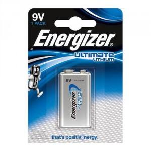 1 Pile 9V L522 Ultimate Lithium ENERGIZER