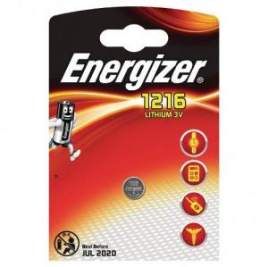 1 Pile CR1216 Lithium ENERGIZER