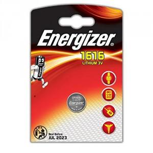 1 Pile CR1616 Lithium ENERGIZER