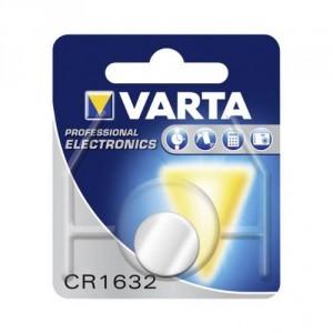1 Pile CR1632 6632 Lithium VARTA
