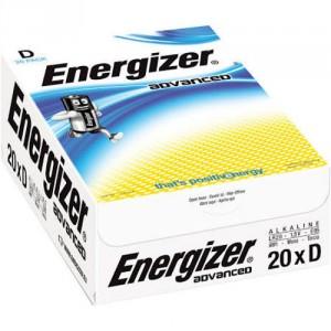 20 Piles D LR20 Advanced ENERGIZER