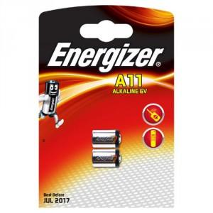 2 Piles A11/L1016 6V Alkaline ENERGIZER