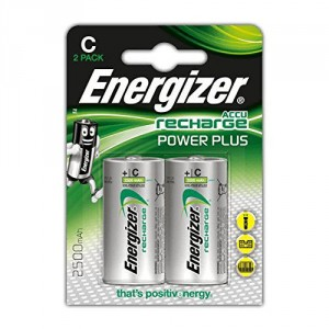 2 Piles C 2500mAh HR14 Power Plus ENERGIZER