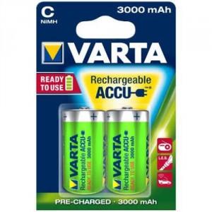 2 Piles C 3000mAh Ready2Use 56714 VARTA