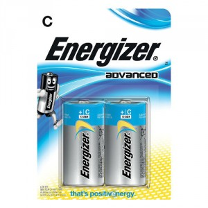 2 Piles C LR14 advanced ENERGIZER