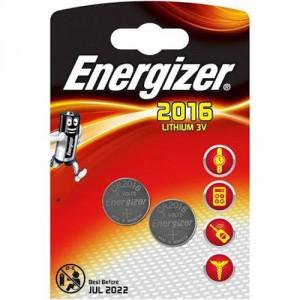 2 Piles CR2016 Lithium ENERGIZER