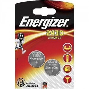 2 Piles CR2430 Lithium ENERGIZER