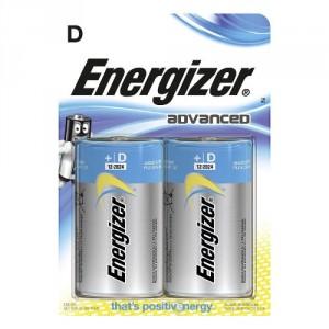 2 Piles D LR20 Advanced ENERGIZER