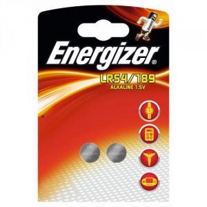 2 Piles LR54/189 Alkaline ENERGIZER