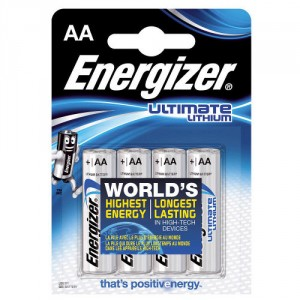 4 Piles AA L91 Ultimate Lithium ENERGIZER