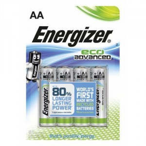 4 Piles AA LR6 Eco Advanced ENERGIZER