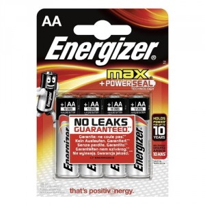 4 Piles AA LR6 ENERGIZER Max