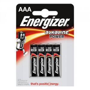 4 Piles AAA LR03 Alkaline Power ENERGIZER