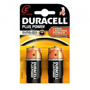 2 Piles 1,5 MX1400 C DURACELL Ultra Power