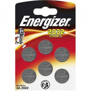 6 Piles CR2032 Lithium ENERGIZER