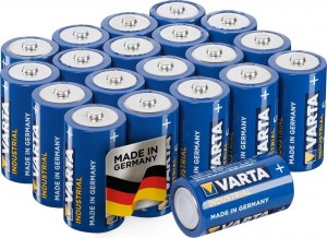 20 Piles C 4014 VARTA Industrial
