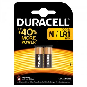 2 Piles N LADY LR1 MN9100  DURACELL