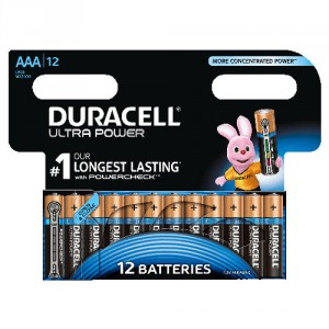 12 Piles AAA MX2400 DURACELL Ultra Power