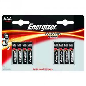 8 Piles AAA LR03 Alkaline Power ENERGIZER