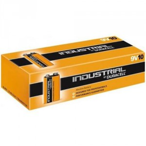 10 Piles 9V MN1604 Industrial by DURACELL