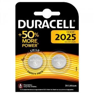 2 Piles DL 2025 Lithium DURACELL
