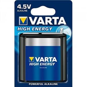 1 Piles 4.5V 4912 High Energy Varta