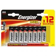 12 Piles AA LR6 ENERGIZER Max