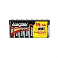 16 Piles AA LR6 Alkaline Power ENERGIZER
