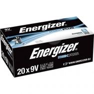 20 Piles 6LR61 Max Plus ENERGIZER