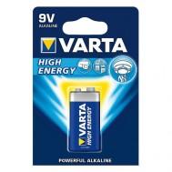 1 Pile 9V 4922 High Energy VARTA