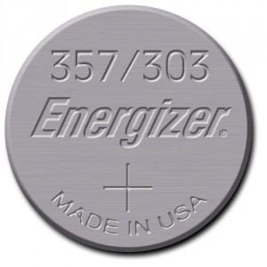 1 Pile 357/303 Silver ENERGIZER