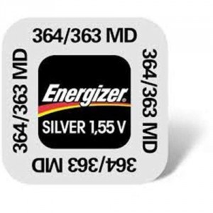 1 Pile 364/363 Silver ENERGIZER