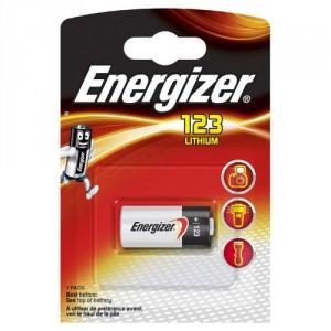 1 Pile 3V CR123A Lithium ENERGIZER