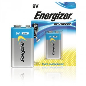 1 Pile 9V 6LR61 Advanced ENERGIZER