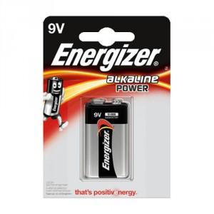 1 Pile 9V 6LR61 Alkaline Power ENERGIZER