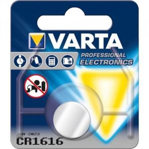 1 Pile CR1616 6616 Lithium VARTA