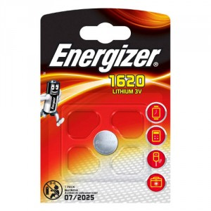 1 Pile CR1620 Lithium ENERGIZER
